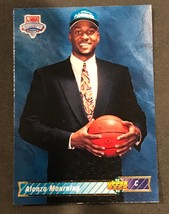 1992-93 Upper Deck  #2 Alonzo Mourning Rookie Basketball Card - $0.98