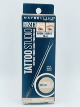 Maybelline Tattoo Studio Brow Pomade 24H Shade 370 Light Blonde New FREE... - $8.55