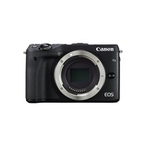 Canon Eos M3 Mirrorless Camera (Body Only) 24.2M FullHD 3 LCD Black 9694... - $619.56