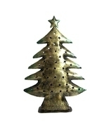 Iron Christmas Tree Christmas Gift Desktop Decoration, Antique Finish - $92.99