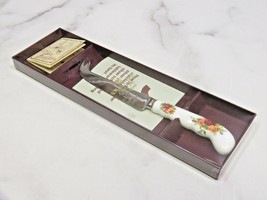 Royal Albert Old Country Roses Cheese Knife Butter Serving Utensil New i... - $39.60