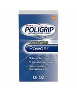 Super Poligrip Extra Strength Denture and Partials Adhesive Powder 1.6 o... - $31.68