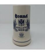 Royal Holland Brand Brewery Beer Stein Mug 16 oz EUC Hand Made 311 - $9.46