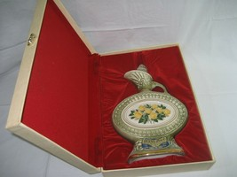 Vintage Beam Regal China Yellow Roses Decanter 150 M 1969 & Original Fel... - $17.72