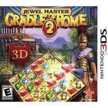 Jewel Master: Cradle of Rome 2 (Nintendo 3DS, 2012) - $9.95