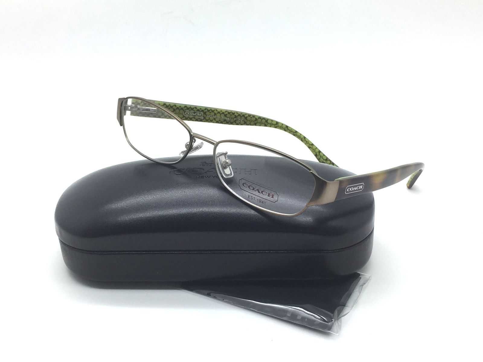 9fdf6d1ff707 Coach Women Brown Rectangular New Eyeglasses and 50 similar items