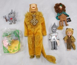 Vintage Wizard of Oz Action Figure Lot Toy Time Cowardly Lion Madame Ale... - $6.99
