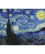 Decoration Poster.Starry Night by Van Gogh painting.Home Room Wall Decor... - $10.89+