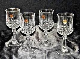 Longchamp Crystal Arques Glasses France 24 PBO Set of 3 LD19-11915