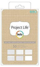 Project Life 4x6 Cards 50/pkg - Kraft - $10.25