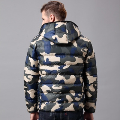 2018 Men's Fashion Camouflage Mens Cotton Padded Clothes Winter Jacket