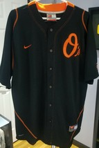 N) Nike Fit Dry Baltimore Orioles Nick Markakis MLB Jersey Size Large #21 - $15.83