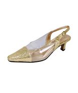 FLORAL Zora Women Wide Width Evening Dress Slingback Shoes - $29.95