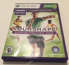 Your Shape: Fitness Evolved 2012 (Microsoft Xbox 360) GUARANTEED - Ships... - $9.49