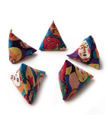 """5 Stones"" Bean Bag Game for Kids - Fun Faces - $7.00"