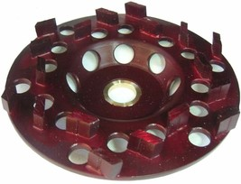 "5"" DIAMOND CUP WHEEL CONCRETE GRINDING ANGLE GRINDER 5/8""-7/8"" arbor - $91.08"