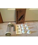 CLEAN! The Pampered Chef Easy Accent Decorator 1770 w/ box and instructions - $19.79