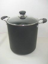 T-Fal Large Non Stick Kitchen Cooking Pot Stock Pot With Lid & Handles 1... - $29.65