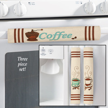 Coffee Appliance Handle Covers - Set Of 3, Ivory  - $12.91