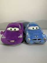 Disney Pixar Cars 2 Finn McMissile & Holly Shiftwell Plush Dollls - $24.99