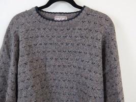 Woolrich Wool Sweater Herb Tweed #9369 Men's Size XL - $457,35 MXN