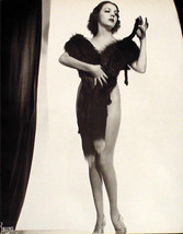 MARGIE HART AND STRIPPER GYPSY ROSE LEE VINTAGE 2 SIDED PIN-UP POSTER HO... - $7.84