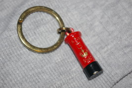 Made In England Red ERII Post Box Letter Box Key Chain  - $13.00