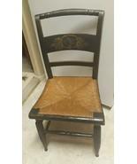 Antique Rare 19th Century Original Hickcock Side Chair - $94.05
