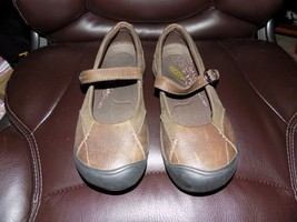 KEEN Brown Leather Mary Jane Shoes Size 6 Women's NWOB - $40.80