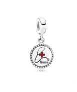 Authentique Pandora Nurse DOCTOR Stetoscope Dangle Charm Exclusive - $19.99