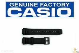 CASIO W-95 Original 14mm Black Rubber Watch BAND Strap TGW-10 AE-30W TRW-10 - $14.51