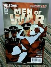 DC Comics Men Of War 2011 Series issue 2 December - $2.50