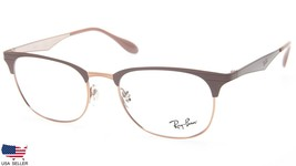 New Ray Ban RB6346 2973 Copper On Top Light Brown Eyeglasses Frame 52-19-145 B40 - $113.83