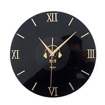 "Alien Storehouse 12"" Retro 3D CD Style Nostalgia Wall Clock Black - $65.12"