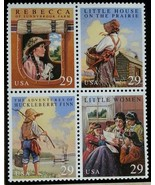 1993 29c Children's Classics, Block of 4 Scott 2785-88 Mint F/VF NH - $2.48