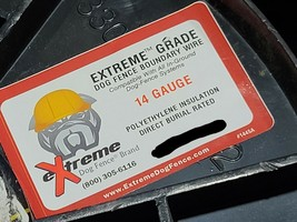 Extreme Dog Fence #14awg Solid BCCS PE Direct Burial Dog Pet Fence Wire ... - $23.75