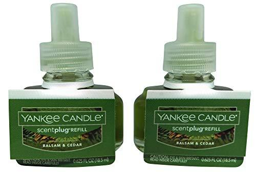 Primary image for Yankee Candle Balsam & Cedar Scentplug 2 Pack Oil Refill Electric Home Fragrance