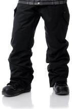 Empyre Boys Militia Cargo Ski Pants Snowboard 10k Waterproof Black Boys ... - $72.03