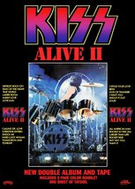 KISS Peter Criss ALIVE II Album Promo Stand-Up Display - Rock Band The C... - $15.99