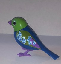 "DIGI BIRD ELECTRONIC SINGING SONG BIRD CHIRPS GREEN WINGS SOLO/CHOIR 2.5"" - $9.89"
