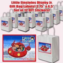 Little Einsteins Sticker Labels Party Favors Supplies Label Stickers ONL... - $16.78