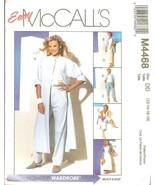 McCall's 4468 Misses'/Miss Petite Duster Top Skirt Pants 12, 14, 16, 18 UNCUT FF - $11.47