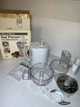 Vintage West Bend Food Processor #41020 Original Box & Manual New Open Box - $69.29