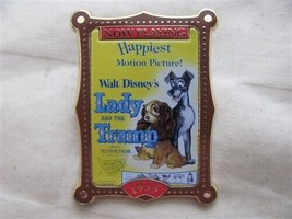 Disney Trading Pins 8351 100 Years of Dreams #80 Lady and the Tramp Poster - $32.73