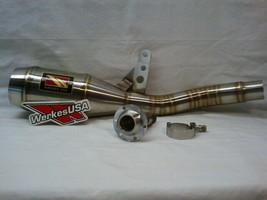 Werkes 2006-2011 Kawasaki Ninja 650R / ER6n GP Slip-On Exhaust NEW - $375.00