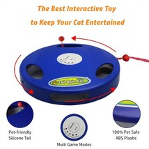 Tail Spin Rat, Electric Toy for Cat or Kitten, Interactive Battery Operated Toy image 7