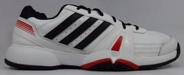 Adidas Bercuda 3 Men's Tennis Court Shoes Size US 13 M (D) EU 48 White Q35154