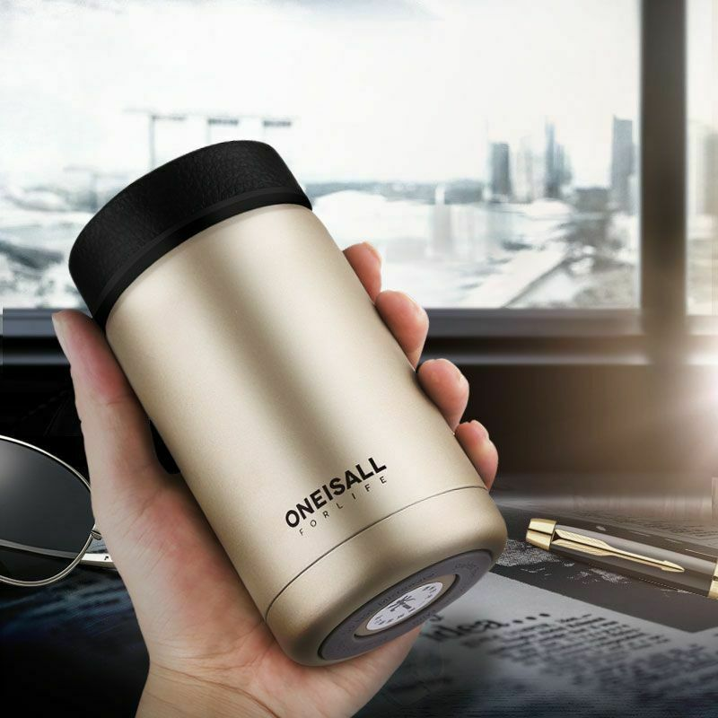 Stainless Steel Thermos Bottle 400ML Coffee Mug Vacuum Cup Portable Water Flask - $48.54 - $52.09