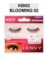 I ENVY BY KISS EYELASHES BLOOMING 02 # KBI02 MULTI ANGLE TECHNOLOGY - $3.85
