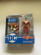 Spin Master DC Heroes Unite 4 Inch Action Figure SHAZAM! 1st Edition New Sealed - $11.87